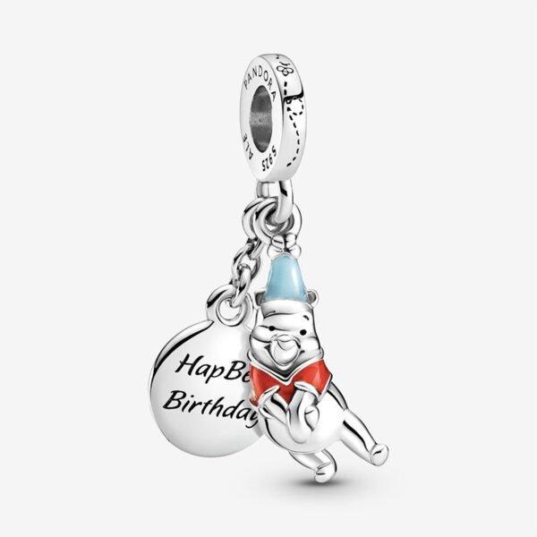 GIOIELLERIA-PRINCESS-Disney-charm-pendente-Compleanno-di-Winnie-the-Pooh