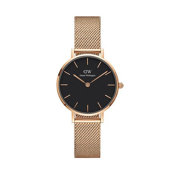 Gioielleria-princess-DANIEL-WELLINGTON---PETITE-MELROSE-BLACK-28mm-3