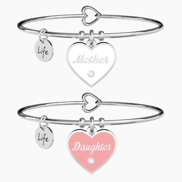 KIDULT - BRACCIALE MOTHER-DAUGHTER   AMORE INFINITO