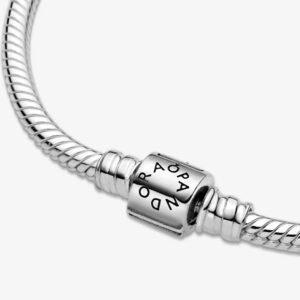 PANDORA - BRACCIALE Moments con maglia snake e chiusura a barile