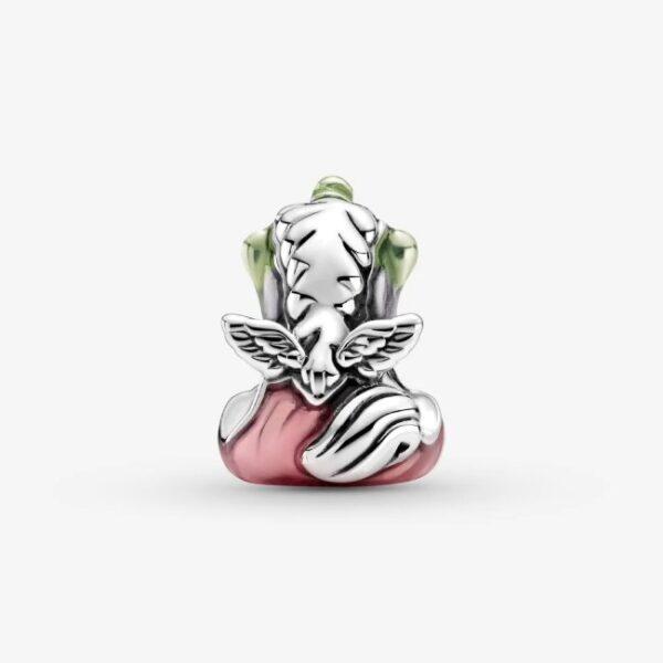 PANDORA - Charm Bruno l'unicorno con arcobaleno colorato
