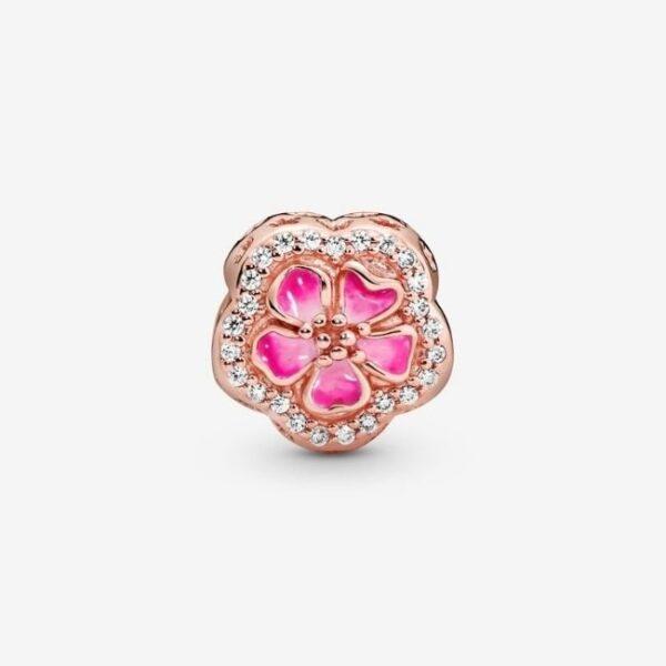PANDORA-Charm-Fiore-di-pesco-scintillante-rosa-2