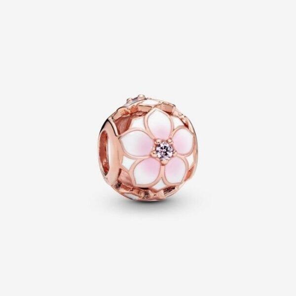 PANDORA-Charm-Magnolia-rosa-openwork-1