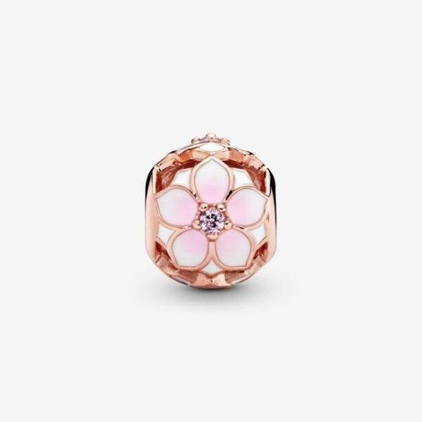 PANDORA-Charm-Magnolia-rosa-openwork-2