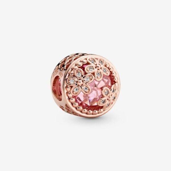 PANDORA-Charm-Margherita-rosa-scintillante-1