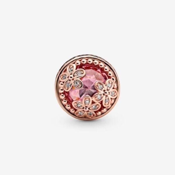 PANDORA-Charm-Margherita-rosa-scintillante-2