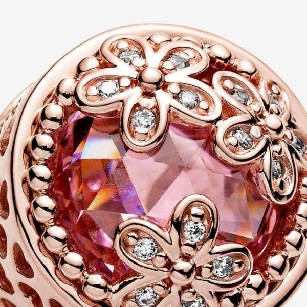 PANDORA-Charm-Margherita-rosa-scintillante-4