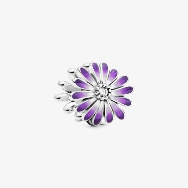 PANDORA - Charm Margherita viola
