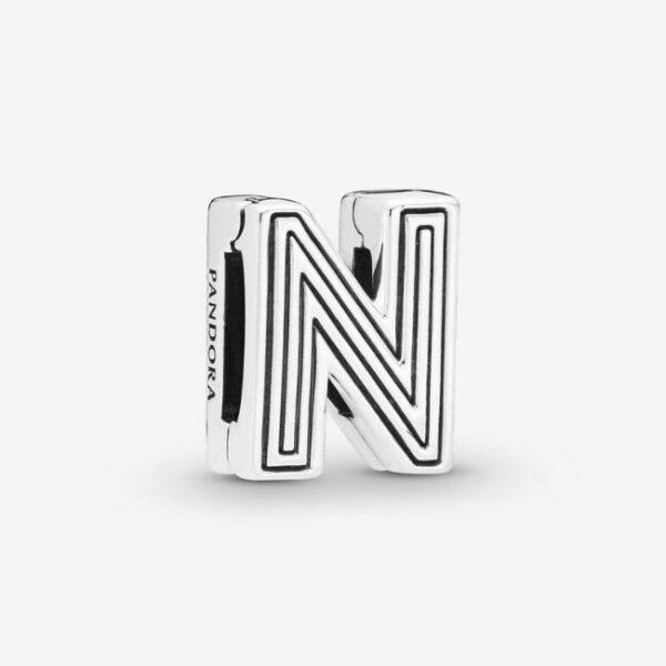 PANDORA-Charm-Reflexions-Lettera-N-1