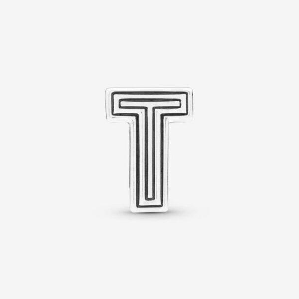 PANDORA-Charm-Reflexions-Lettera-T-2