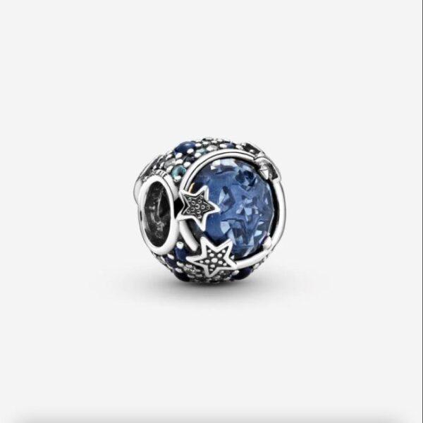 PANDORA - Charm Stelle scintillanti blu