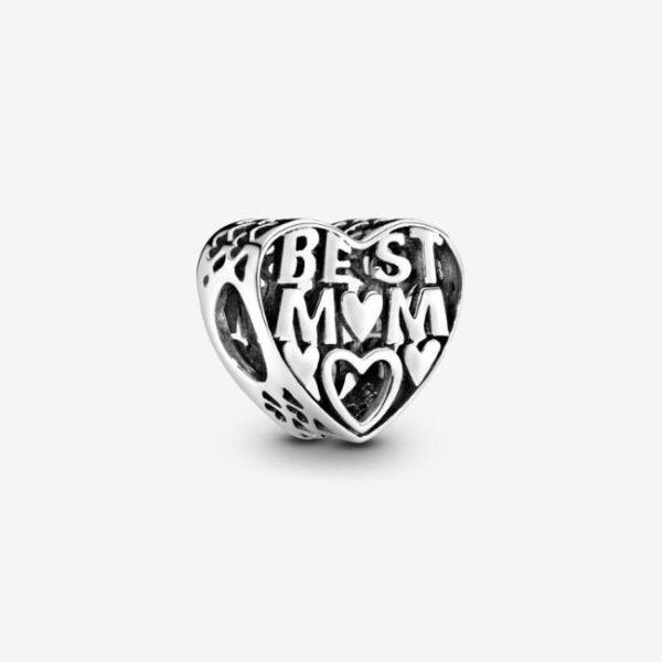 PANDORA-Charm-openwork-a-cuore-La-mamma-migliore-1