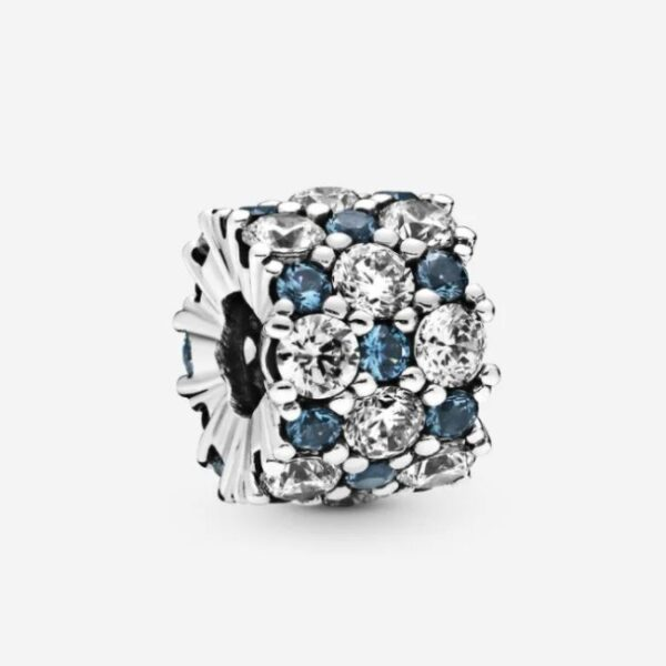 PANDORA - Charm scintillante blu