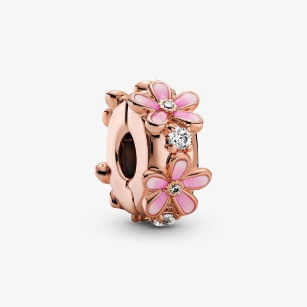 PANDORA - Clip Margherita rosa