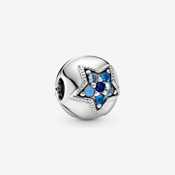 PANDORA-Clip-Stella-blu-luminosa-1