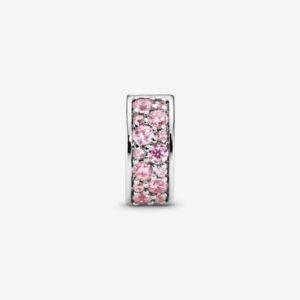 PANDORA-Clip-con-pavé-rosa-2
