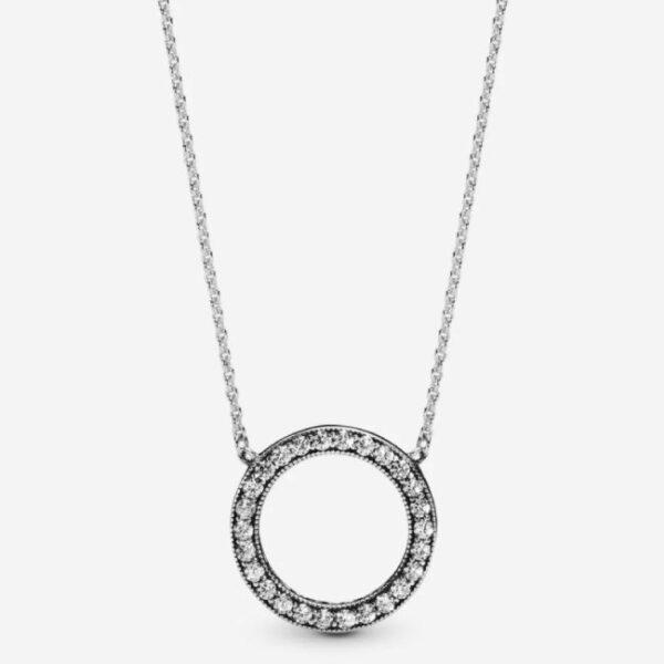 PANDORA - Collana Cerchio scintillante