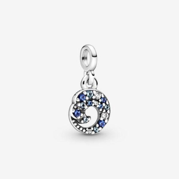 PANDORA-Mini charm-pendente-onda-dell-oceano-blu-1