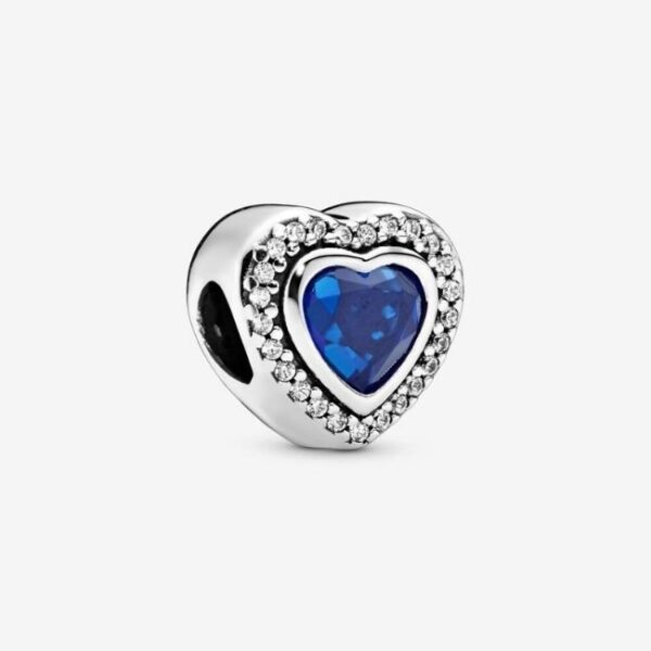 Pandora-Charm-Cuore-blu-scintillante-1