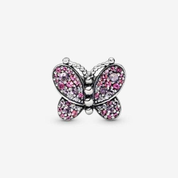 Pandora-Charm-Farfalla-con-pavé-rosa-2