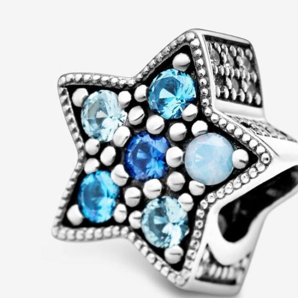 Pandora-Charm-Stella-blu-luminosa-4