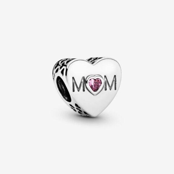 Pandora-Charm-a-cuore-rosa-Mamma-1