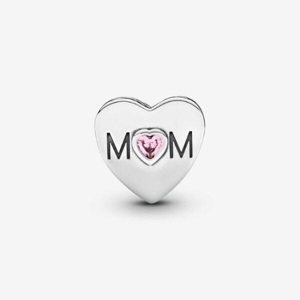 Pandora-Charm-a-cuore-rosa-Mamma-2