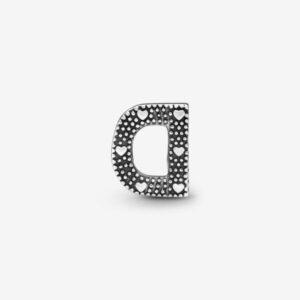 Pandora-Charm-dell-alfabeto-Lettera-D-2