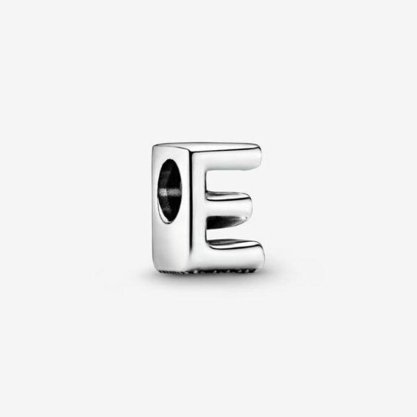 Pandora-Charm-dell-alfabeto-Lettera-E-1