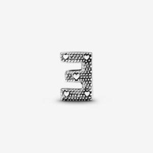 Pandora-Charm-dell-alfabeto-Lettera-E-2