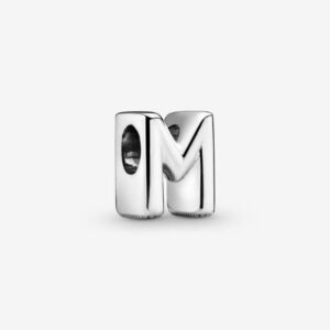 Pandora-Charm-dell-alfabeto-Lettera-M-1