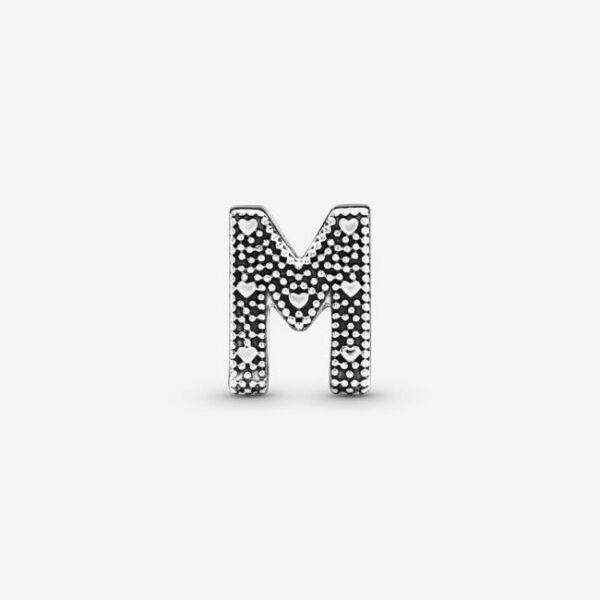 Pandora-Charm-dell-alfabeto-Lettera-M-2