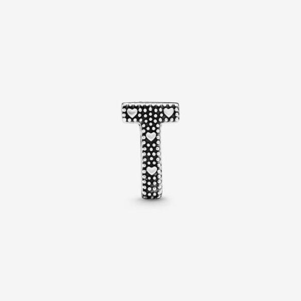 Pandora-Charm-dell-alfabeto-Lettera-T-2