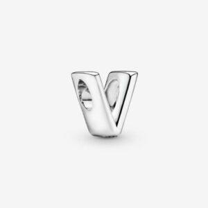 Pandora-Charm-dell-alfabeto-Lettera-V-1