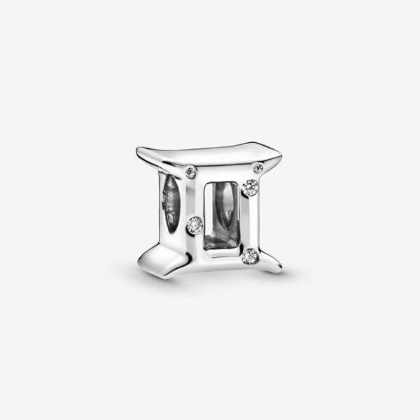 Pandora-Charm-dello-zodiaco-Gemelli-scintillante-1
