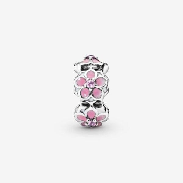 Pandora-Charm-distanziatore-Magnolia-rosa-2