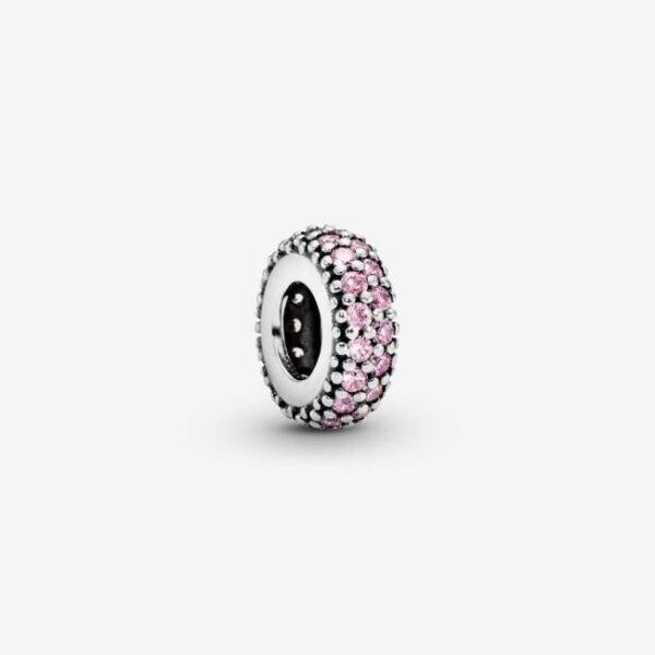 Pandora-Charm-distanziatore-rosa-scintillante-1