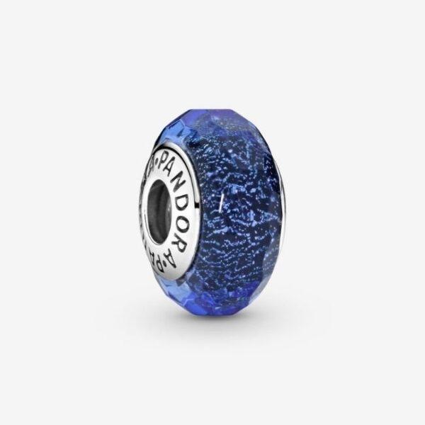 Pandora-Charm-in-vetro-di-Murano-blu-sfaccettato-1