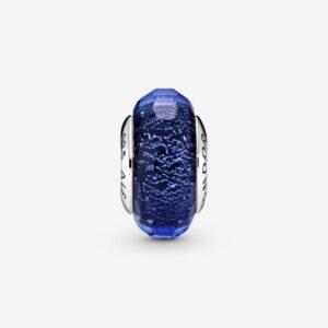 Pandora-Charm-in-vetro-di-Murano-blu-sfaccettato-2