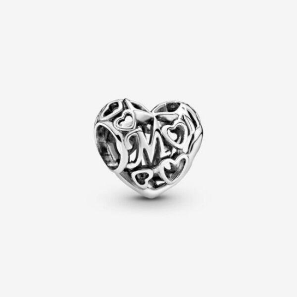 Pandora-Charm-openwork-a-cuore-Mamma-1
