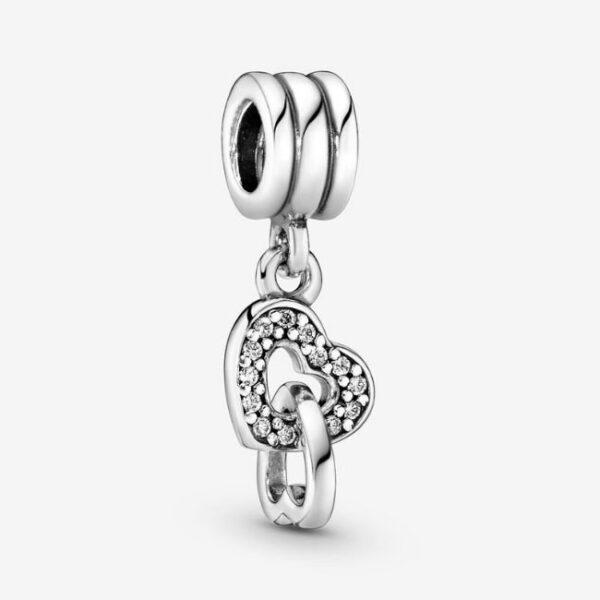 Pandora-Charm-pendente-Cuori-intrecciati-1