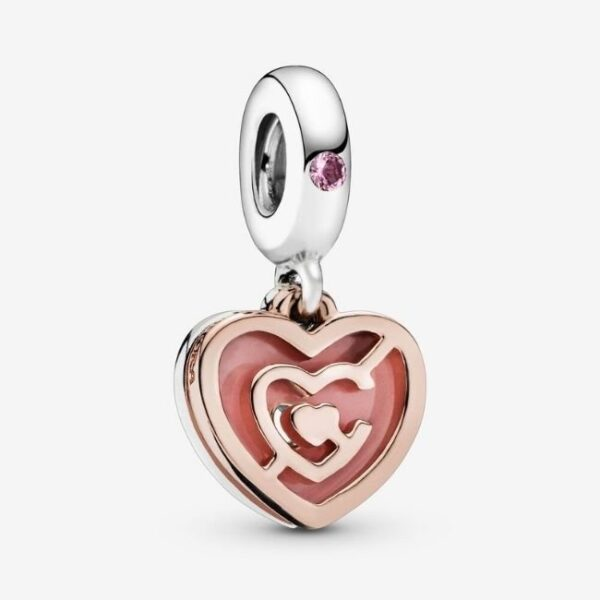 Pandora-Charm-pendente-Labirinto-di-cuori-rosa-1