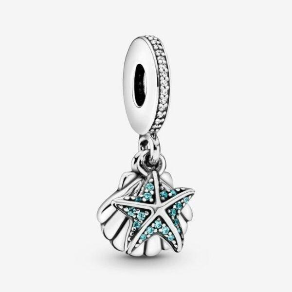Pandora-Charm-pendente-Stella-marina-e-conchiglia-1