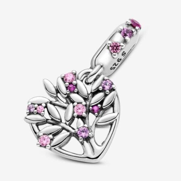 Pandora-Charm-pendente-a-cuore-rosa-Albero-della-famiglia-4