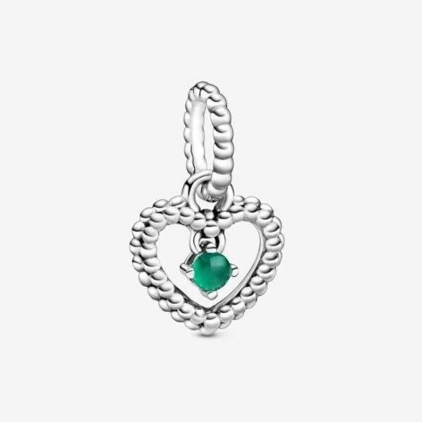 Pandora-Charm-pendente-a-cuore-verde-bosco-decorato-con-sfere-Purely-1