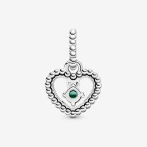 Pandora-Charm-pendente-a-cuore-verde-bosco-decorato-con-sfere-Purely-2