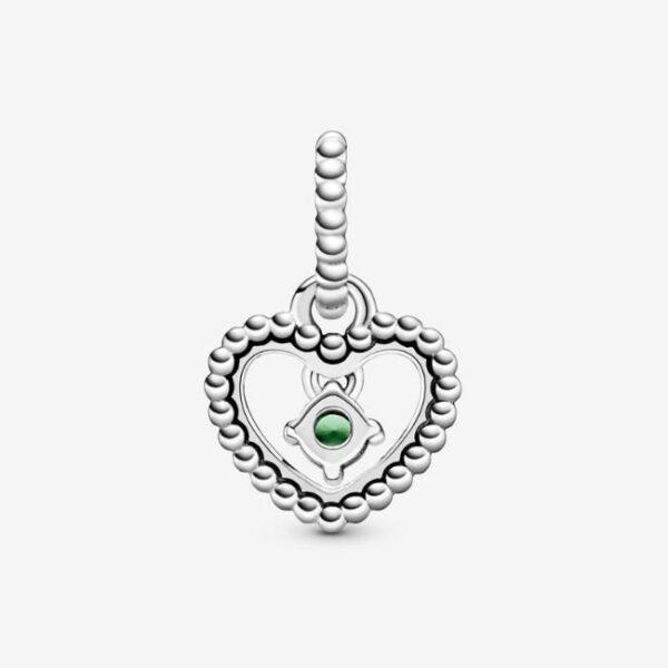 Pandora-Charm-pendente-a-cuore-verde-primavera-decorato-con-sfere-Purely-2