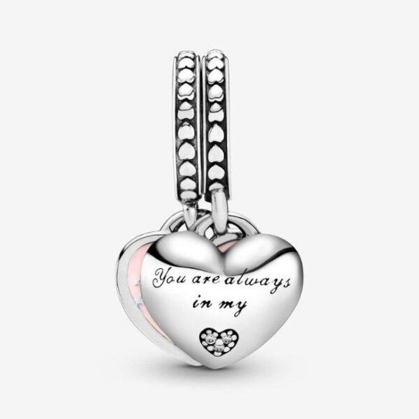 Pandora-Charm-pendente-cuori-mamma-e-figlia-2