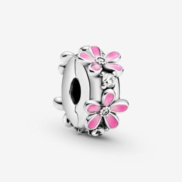 Pandora-Clip-Margherita-rosa-1