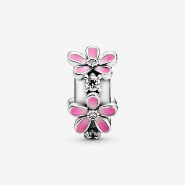 Pandora-Clip-Margherita-rosa-2